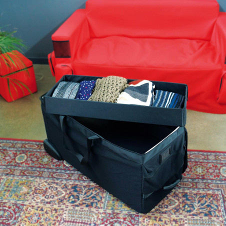 Proline bag with trays for scarves collection