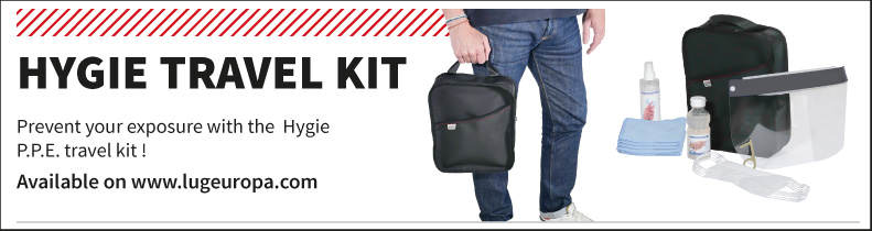 Hygie travel kit to protect from the covid-19